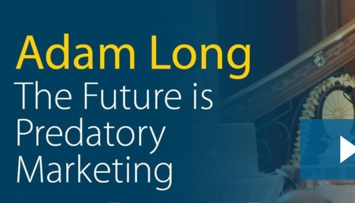 Drive Life Well - The Future of Marketing is Predatory